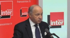 Laurent Fabius sur France Inter, le 11 mars.