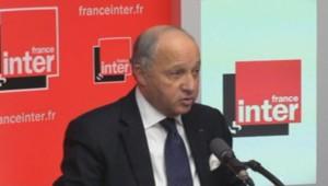 Laurent Fabius sur France Inter, le 11 mars.