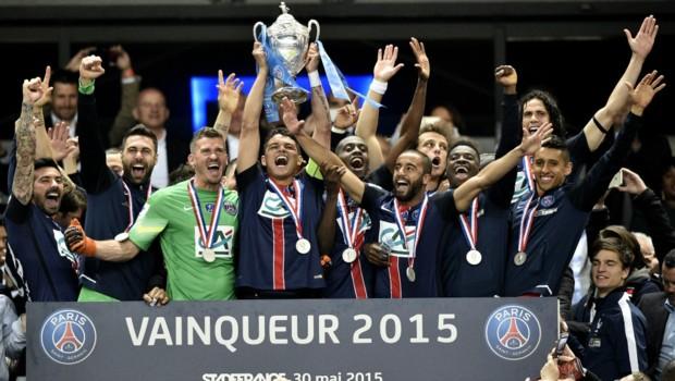 Le PSG conclut sa saison 2014-2015 avec la Coupe de France et un quadruplé historique