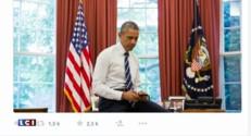 """Sur Twitter, Bill Clinton """"trolle"""" le nouveau compte de Barack Obama"""