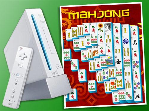 Concours Mahjong consoles Nintendo Wii