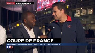 Coupe de France : battus par le PSG, les supporters d'Auxerre s'attendaient à pire