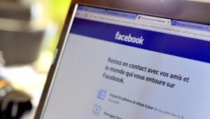 Facebook-réseau-social-ordinateur. page accueil