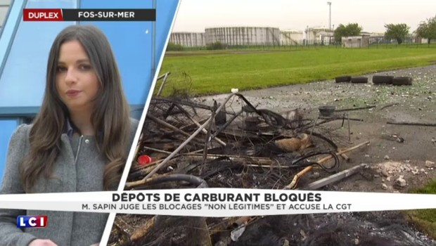 Fos-sur-Mer : les dépôts pétroliers totalement bloqués