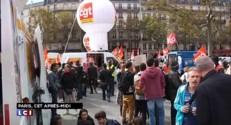 Grève nationale : manifestations en région et à Paris pour l'emploi et les salaires