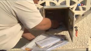 Le 13 heures du 20 septembre 2013 : Gros probl�s de distribution de courrier pr�de Narbonne - 684.344