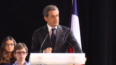 Nicolas Sarkozy, le 15/10/14