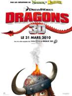 Affiche Dragons de Dean DeBlois et Chris Sanders