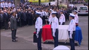 hommage de Nicolas Sarkozy à la policière Aurélie Fouquet