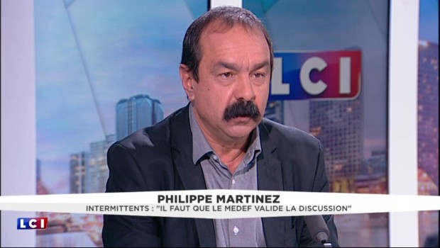 "Intermittents du spectacle : ""Le Medef doit valider l'accord"", affirme Philippe Martinez"
