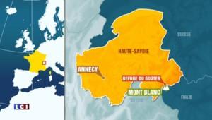Risques d'éboulements dans le Mont Blanc, fermeture du Refuge du Goûter