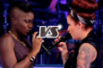 Manon VS Ayelya – La Battle sur « Wrecking Ball » (Miley Cyrus) - The Voice 3
