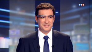 Le 13 heures du 20 septembre 2013 : Fabrice Collaro a test�our vous les Google glass - 909.139