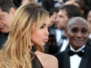 Nabilla Benattia au Festival de Cannes 2014 pour la projection de The Homesman le 18 mai 2014