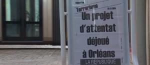 Orléans: deux Français en garde à vue après un projet d'attentat déjoué, les habitants stupéfaits