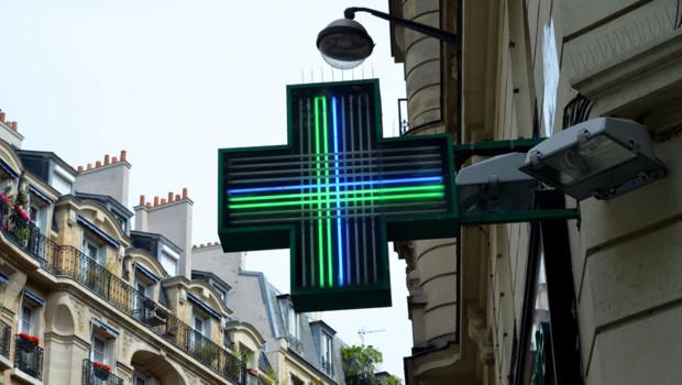 Pharmacie-à-Paris. Image d'illustration.