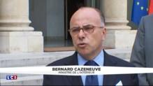 Terrorisme : Cazeneuve répond aux critiques de Sarkozy