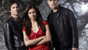 The Vampire Diaries, Nina Dobrev, Paul Wesley et Ian Somerhalder