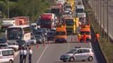 Des routiers toujours mobilisés