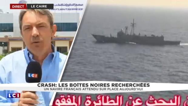 Egypt Air : un navire français envoyé, des recherches qui s'annoncent longues