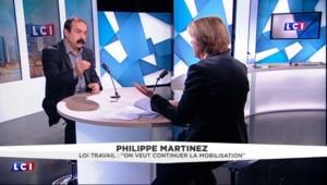 """Philippe Martinez sur la loi travail : """"Nous demandons toujours le retrait"""""""