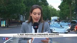 Royaume-Uni : Boris Johnson nommé ministre des Affaires étrangères par Theresa May