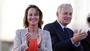 Ségolène Royal et Jean-Marc Ayrault, le 1er juin 2012 à La Rochelle.