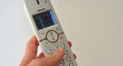Téléphone-fixe. Image d'illustration.