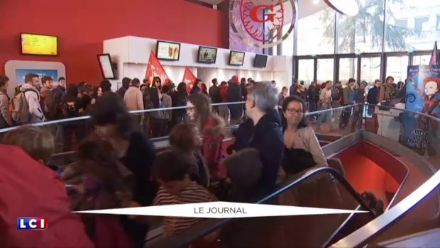 1er mai à Rennes : un cinéma envahi par des manifestants