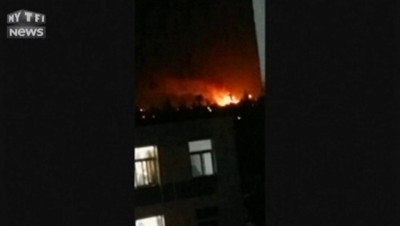 Chine : une nouvelle explosion souffle Tianjin