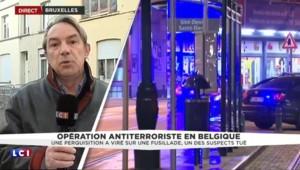 """Fusillade à Bruxelles : """"Le périmètre de sécurité a été levé, les recherches continuent"""""""