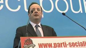 Hollande au siège du PS
