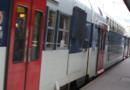 rer train transport quai