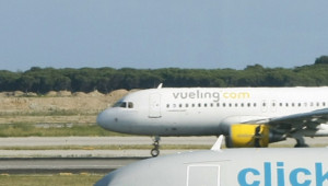 Un A320 de la compagnie espagnole Vueling.