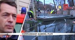 """Vents violents : deux blessés à Paris, les victimes ont été dégagées """"dans un état sérieux"""""""