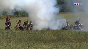 Le 13 heures du 2 juin 2014 : Ils rejouent la Bataille de Montmirail - 1807.5114201049805
