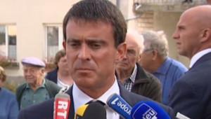 Manuel Valls en déplacement en Moselle