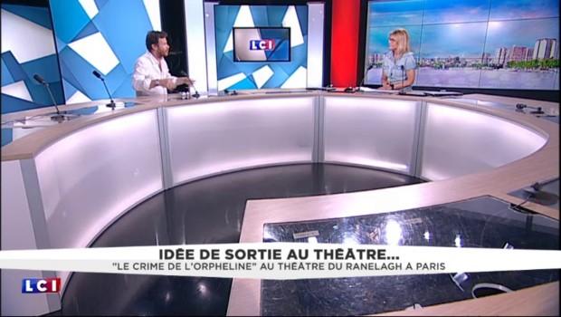 """Philippe Lelièvre au théâtre à Paris dans """"le crime de l'orpheline"""""""