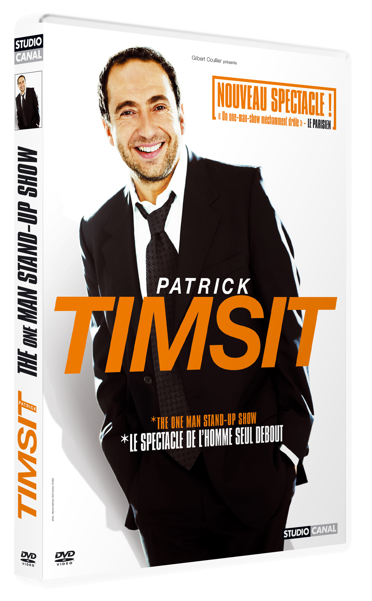 DVD spectacle Patrick Timsit