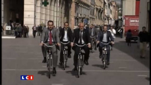 En Italie, un Conseil municipal obligé de pédaler