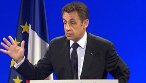 Nicolas Sarkozy au Creusot, le 3 juillet 2008