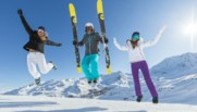 ski skieur montagne hiver neige