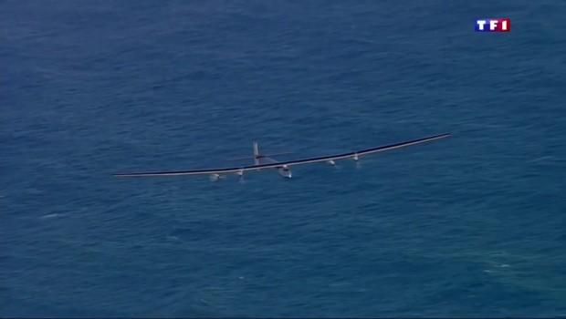 Solar Impulse, l'avion solaire, réussit sa traversée du Pacifique