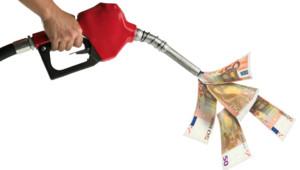 Une pompe à essence.