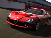 Alfa Romeo TZ3 Zagato Stradale dans le jeu Gran Turismo 6, sur Playstation 3.
