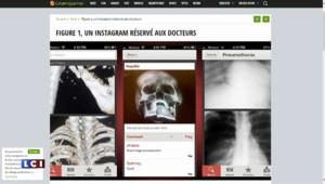 """""""Figure 1"""", le réseau social des médecins"""
