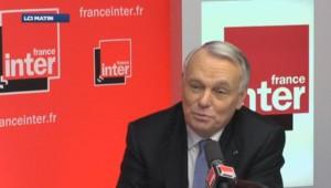 Jean-Marc Ayrault sur France Inter.