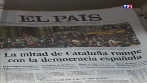 La rupture avec l'Espagne divise de nombreux Catalans