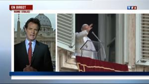 Le 13 heures du 17 mars 2013 : Le pape Fran�s : de petits gestes riches de sens - 188.6254326858521