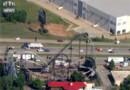 Les passagers d'un grand huit bloqués à mi-course à plus de 30 mètres de hauteur